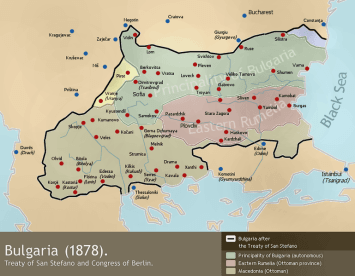 Treaty of San Stefano and Berlin